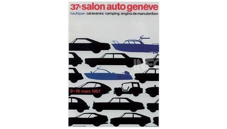 Le locandine del Salone di Ginevra dal 1924 ad oggi - Foto 37 di 88