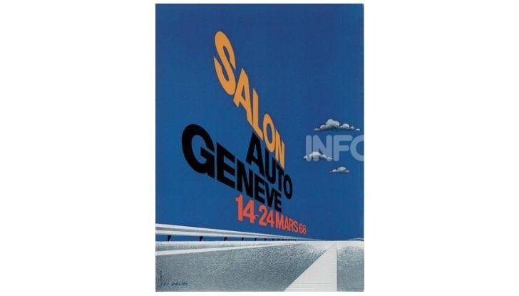 Le locandine del Salone di Ginevra dal 1924 ad oggi - Foto 38 di 90