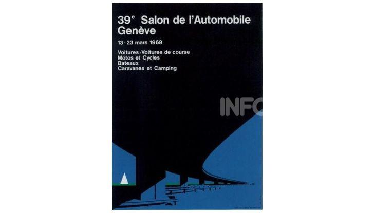 Le locandine del Salone di Ginevra dal 1924 ad oggi - Foto 39 di 88