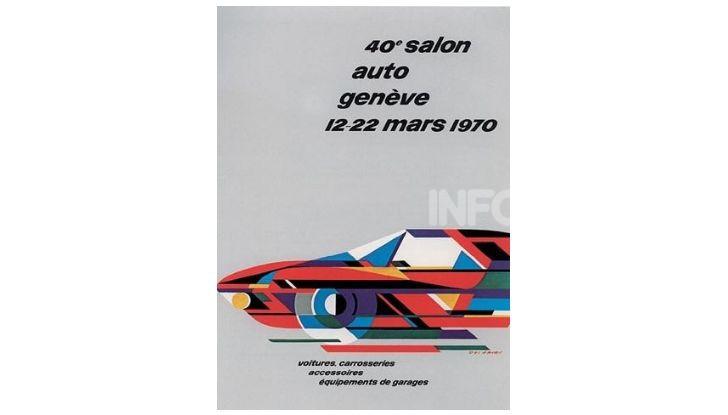 Le locandine del Salone di Ginevra dal 1924 ad oggi - Foto 40 di 88