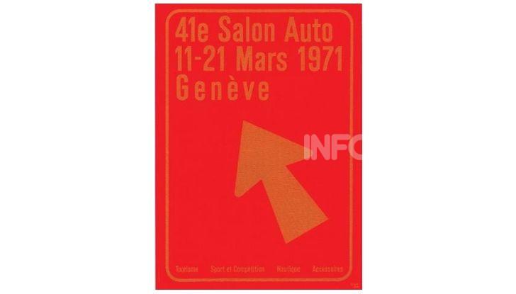 Le locandine del Salone di Ginevra dal 1924 ad oggi - Foto 41 di 88