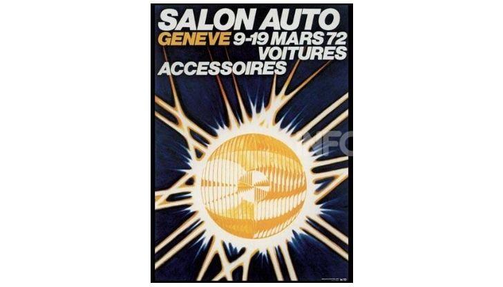 Le locandine del Salone di Ginevra dal 1924 ad oggi - Foto 42 di 88