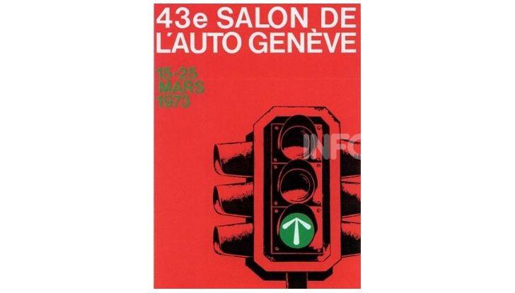 Le locandine del Salone di Ginevra dal 1924 ad oggi - Foto 43 di 88