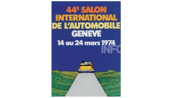 Le locandine del Salone di Ginevra dal 1924 ad oggi - Foto 44 di 88