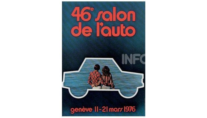 Le locandine del Salone di Ginevra dal 1924 ad oggi - Foto 46 di 88