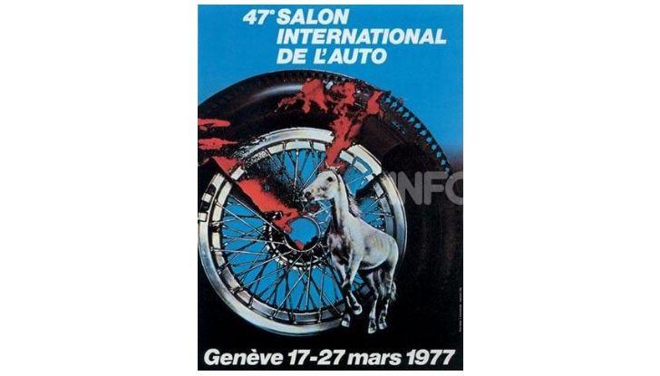 Le locandine del Salone di Ginevra dal 1924 ad oggi - Foto 47 di 90