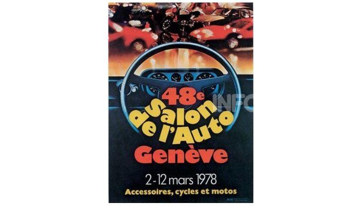 Le locandine del Salone di Ginevra dal 1924 ad oggi - Foto 48 di 88