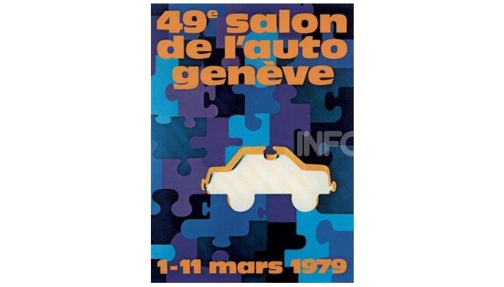Le locandine del Salone di Ginevra dal 1924 ad oggi - Foto 49 di 88