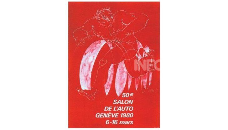 Le locandine del Salone di Ginevra dal 1924 ad oggi - Foto 50 di 88