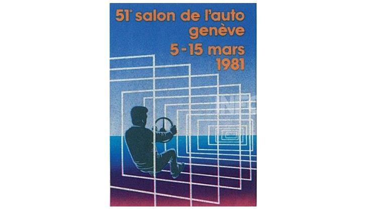 Le locandine del Salone di Ginevra dal 1924 ad oggi - Foto 51 di 88