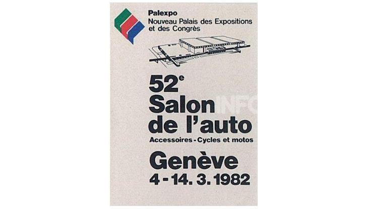 Le locandine del Salone di Ginevra dal 1924 ad oggi - Foto 52 di 90