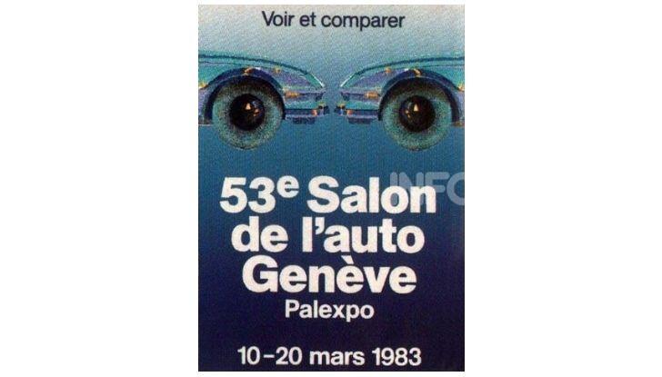 Le locandine del Salone di Ginevra dal 1924 ad oggi - Foto 53 di 90