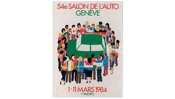 Le locandine del Salone di Ginevra dal 1924 ad oggi - Foto 54 di 88