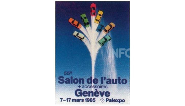 Le locandine del Salone di Ginevra dal 1924 ad oggi - Foto 55 di 88
