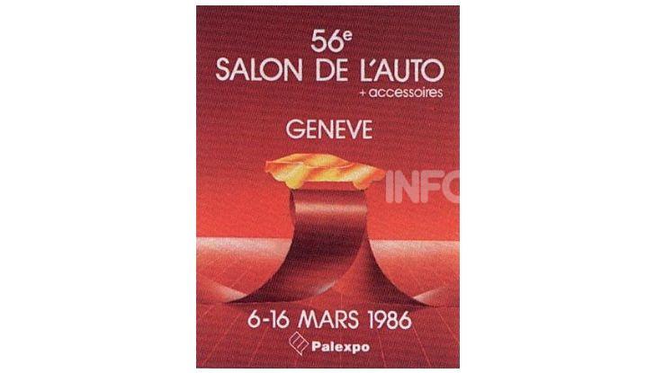 Le locandine del Salone di Ginevra dal 1924 ad oggi - Foto 56 di 88
