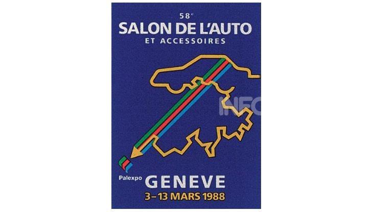 Le locandine del Salone di Ginevra dal 1924 ad oggi - Foto 58 di 90