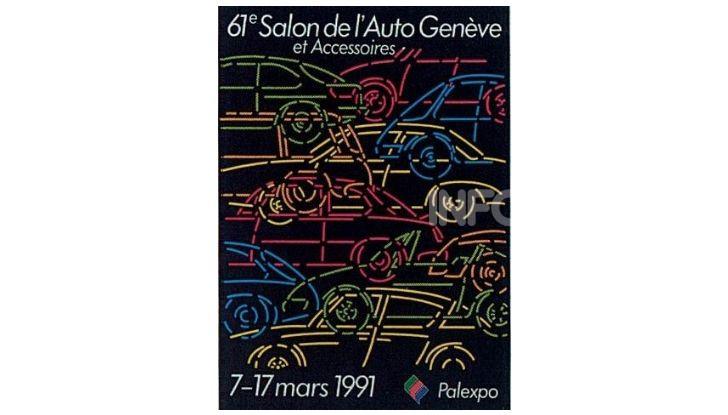 Le locandine del Salone di Ginevra dal 1924 ad oggi - Foto 61 di 88