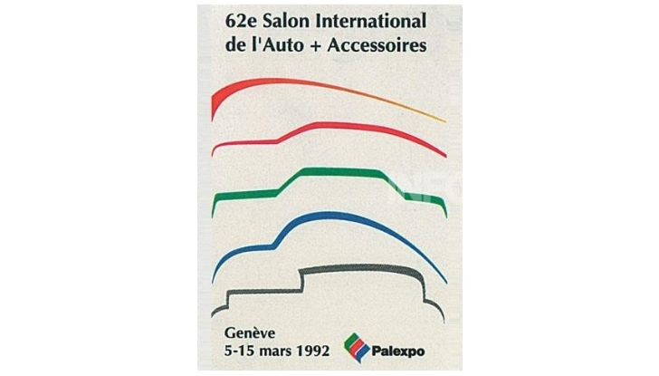 Le locandine del Salone di Ginevra dal 1924 ad oggi - Foto 62 di 90