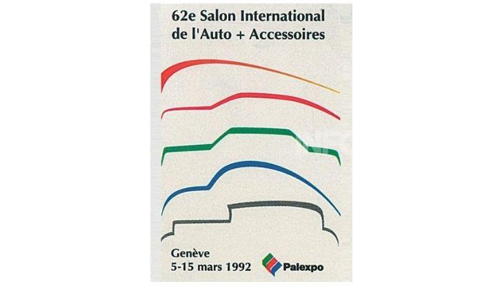 Le locandine del Salone di Ginevra dal 1924 ad oggi - Foto 62 di 88