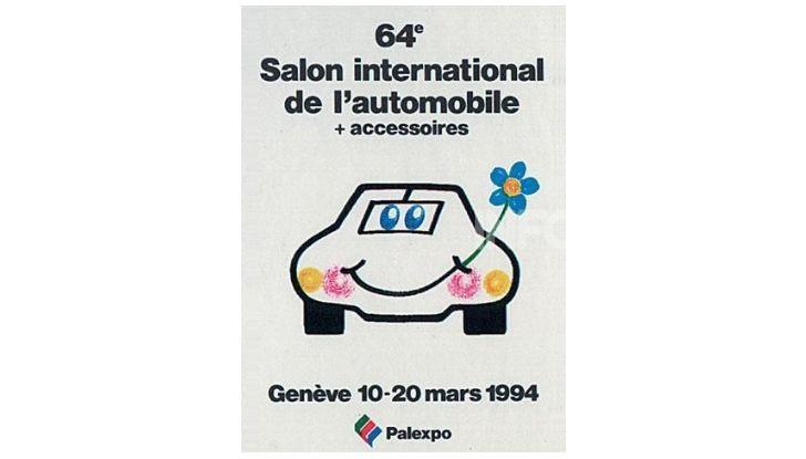 Le locandine del Salone di Ginevra dal 1924 ad oggi - Foto 64 di 88