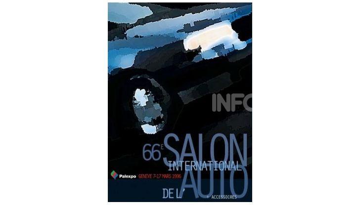 Le locandine del Salone di Ginevra dal 1924 ad oggi - Foto 66 di 88