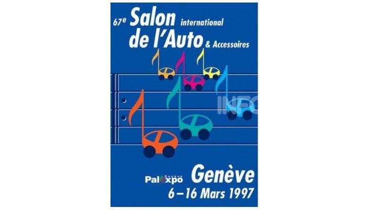 Le locandine del Salone di Ginevra dal 1924 ad oggi - Foto 67 di 88