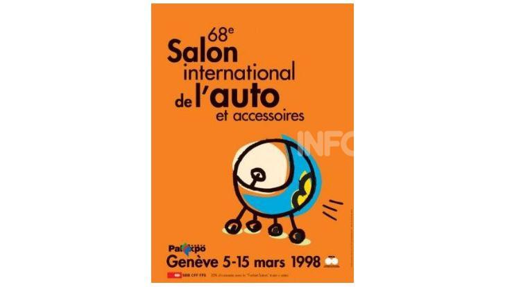 Le locandine del Salone di Ginevra dal 1924 ad oggi - Foto 68 di 90