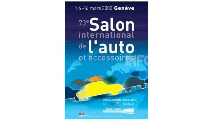 Le locandine del Salone di Ginevra dal 1924 ad oggi - Foto 73 di 90