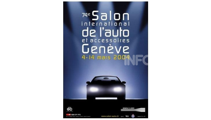 Le locandine del Salone di Ginevra dal 1924 ad oggi - Foto 74 di 90