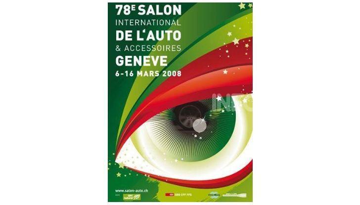 Le locandine del Salone di Ginevra dal 1924 ad oggi - Foto 78 di 88