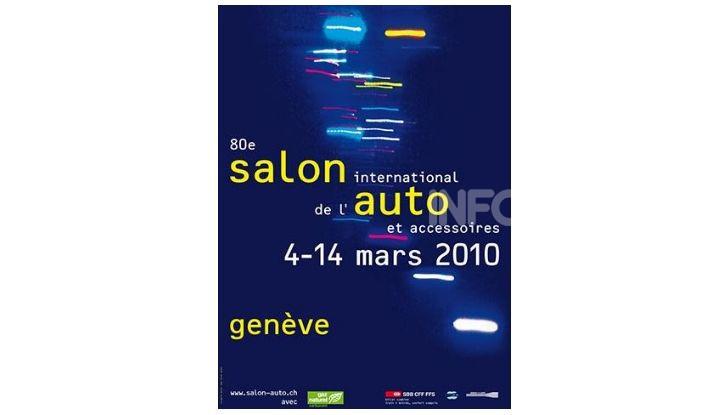 Le locandine del Salone di Ginevra dal 1924 ad oggi - Foto 80 di 88