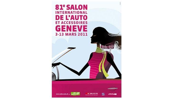 Le locandine del Salone di Ginevra dal 1924 ad oggi - Foto 81 di 88
