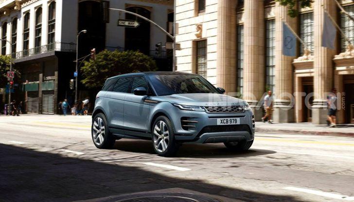 Range Rover Evoque 2019: una seconda serie per replicare il successo - Foto 8 di 8