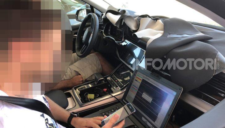 Audi Q7, primi test per la nuova generazione - Foto 17 di 28