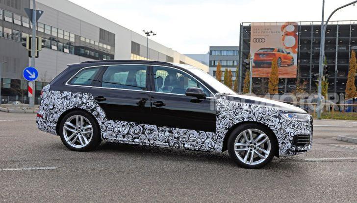 Audi Q7, primi test per la nuova generazione - Foto 23 di 28