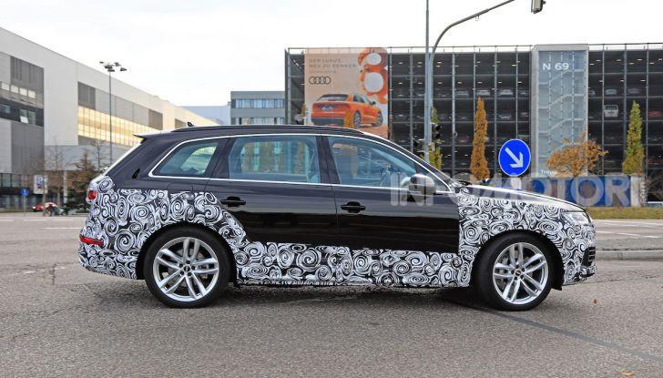 Audi Q7, primi test per la nuova generazione - Foto 18 di 28