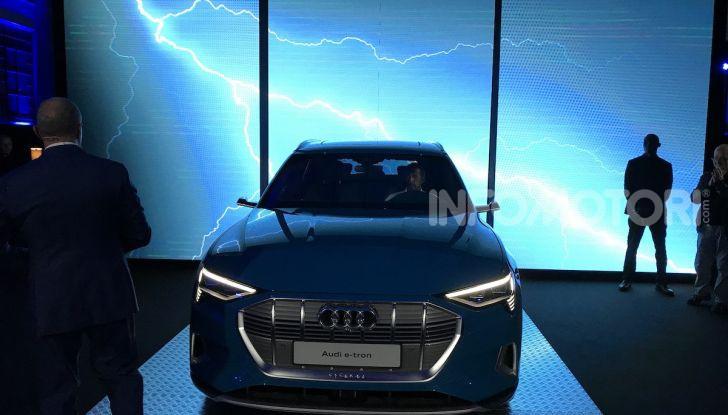 Audi e-tron debutta in Italia, prezzi da 83.930 euro - Foto 5 di 9