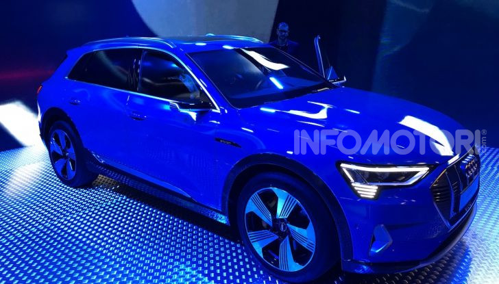 Audi e-tron debutta in Italia, prezzi da 83.930 euro - Foto 1 di 9