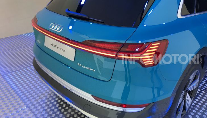 Audi e-tron debutta in Italia, prezzi da 83.930 euro - Foto 2 di 9