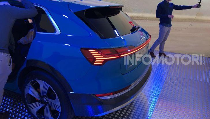 Audi e-tron debutta in Italia, prezzi da 83.930 euro - Foto 9 di 9