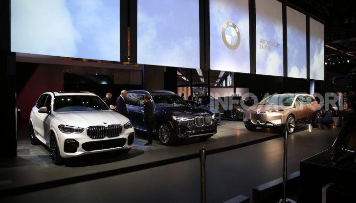 Il meglio dello stand BMW al Salone di Los Angeles 2018 - Foto 2 di 87