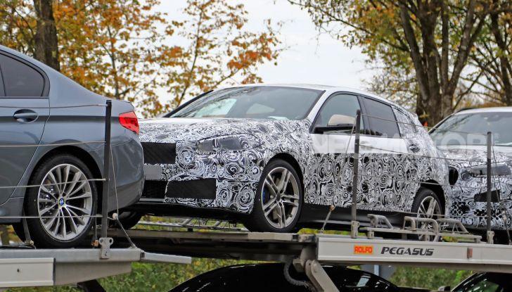 BMW Serie 1 2019: trazione anteriore, design rivisitato - Foto 14 di 18