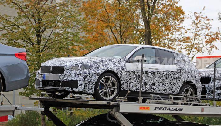 BMW Serie 1 2019: trazione anteriore, design rivisitato - Foto 2 di 18