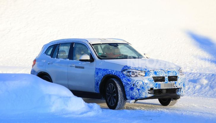 BMW iX3 2020: il SUV elettrico premium è Made in Cina - Foto 58 di 59
