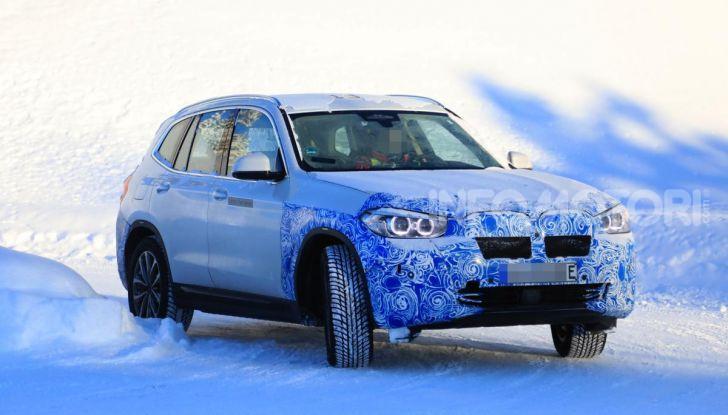 BMW iX3 2020: il SUV elettrico premium è Made in Cina - Foto 57 di 59