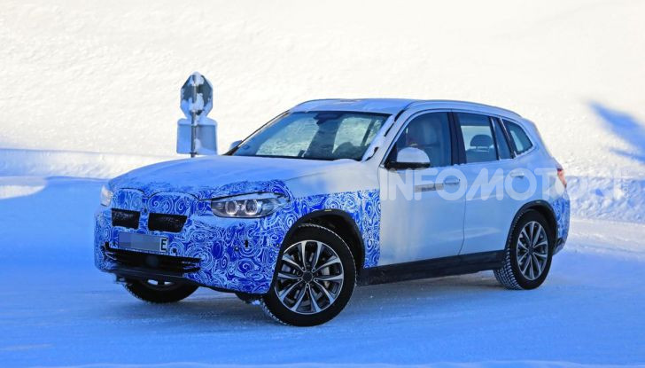BMW iX3 2020: il SUV elettrico premium è Made in China - Foto 56 di 59