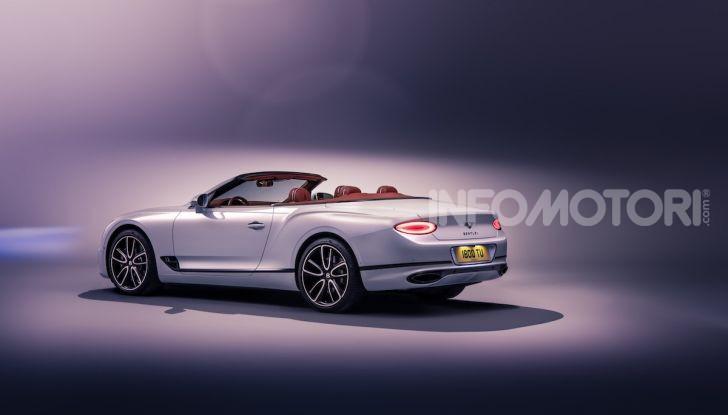Bentley Continental GT Convertible 2019: lusso inglese allo scoperto - Foto 27 di 37