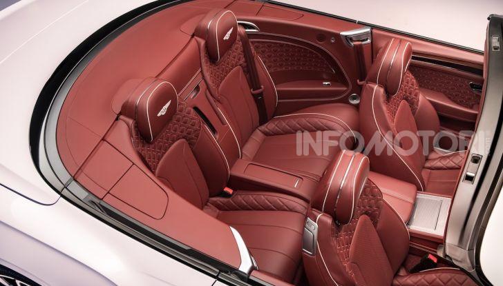 Bentley Continental GT Convertible 2019: lusso inglese allo scoperto - Foto 30 di 37