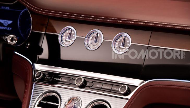 Bentley Continental GT Convertible 2019: lusso inglese allo scoperto - Foto 34 di 37