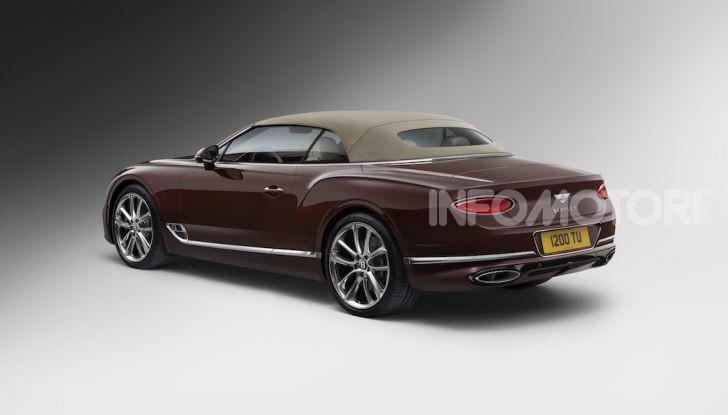 Bentley Continental GT Convertible 2019: lusso inglese allo scoperto - Foto 36 di 37